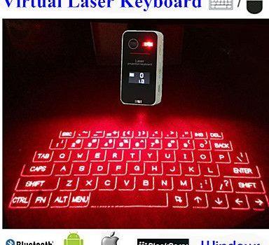 Tastiera laser: come funziona e quali sono le differenze rispetto alla versione tradizionale